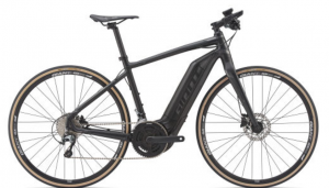 black commuter ebike